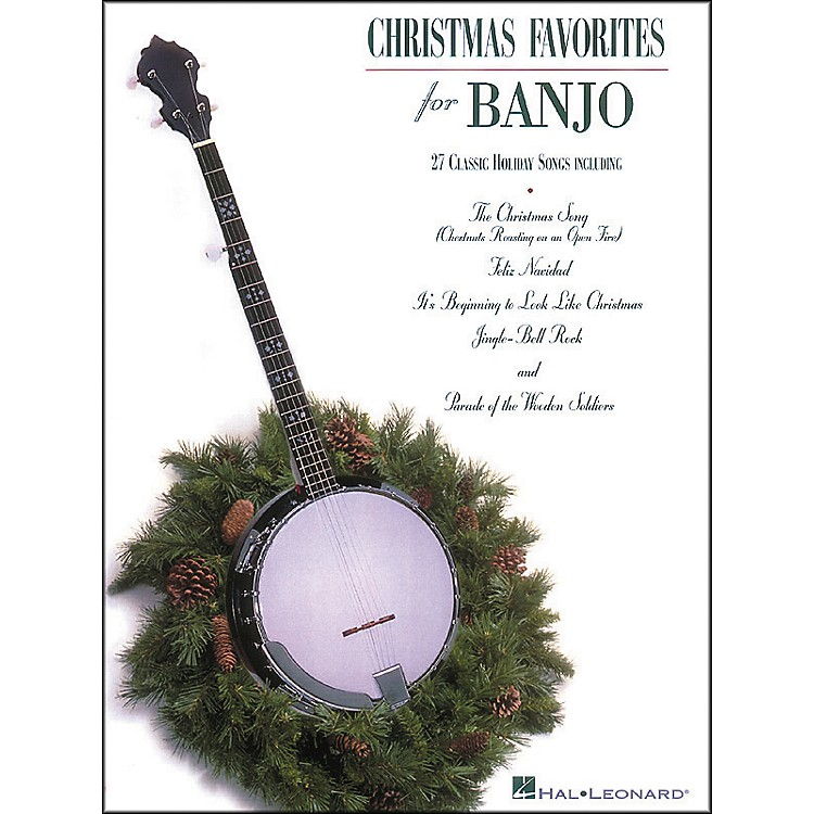 Hal Leonard Christmas Favorites Tab Songbook for Banjo