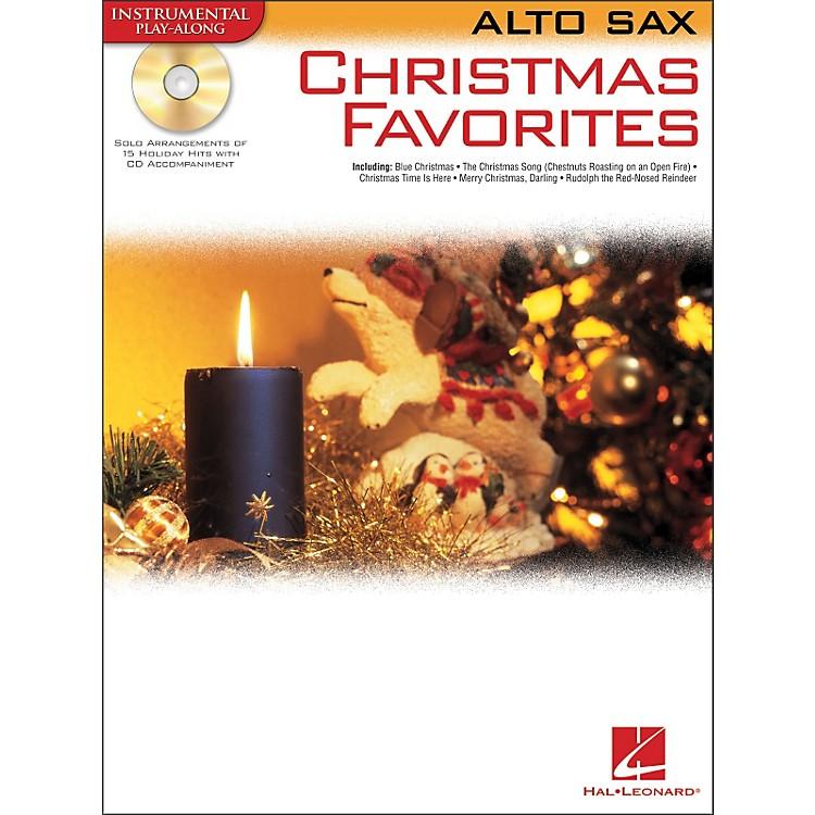Hal LeonardChristmas Favorites for Alto Sax Book/CD Instrumental Play-Along