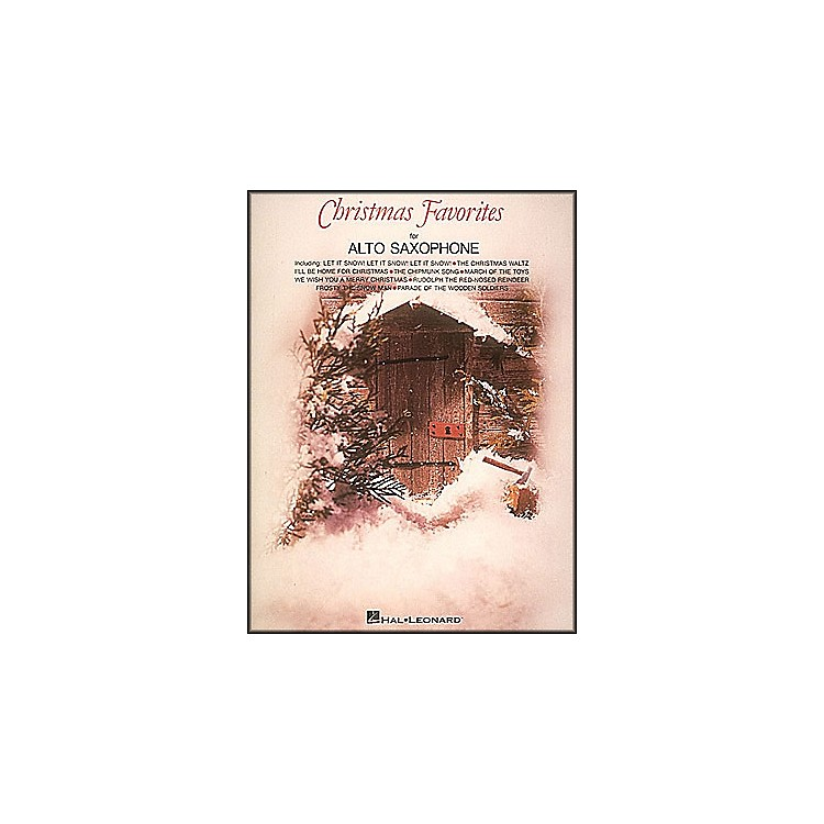 Hal LeonardChristmas Favorites for Alto Saxophone