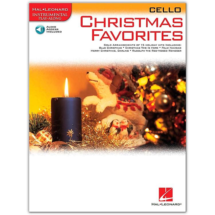 Hal LeonardChristmas Favorites for Cello Book/CD Instrumental Play-Along