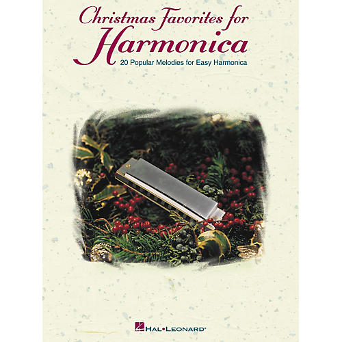 Hal Leonard Christmas Favorites for Harmonica - 30 Popular Melodies for Easy Harmonica (Book)