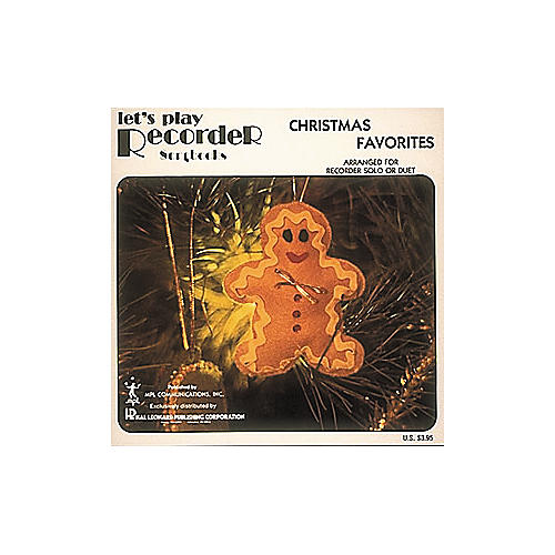 Hal Leonard Christmas Favorites for Recorder