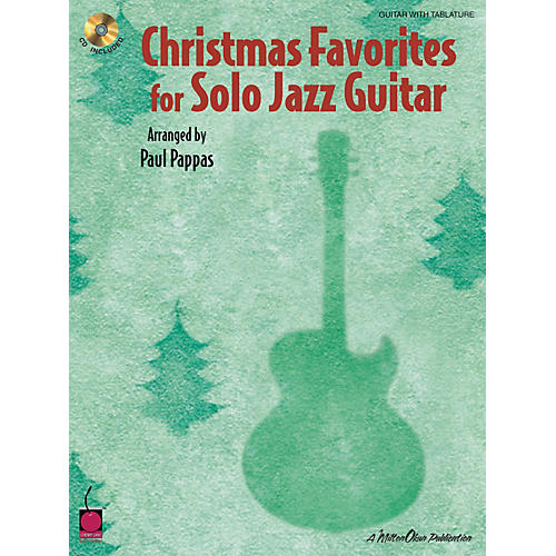 Cherry Lane Christmas Favorites for Solo Jazz Guitar Tab Songbook with CD-thumbnail