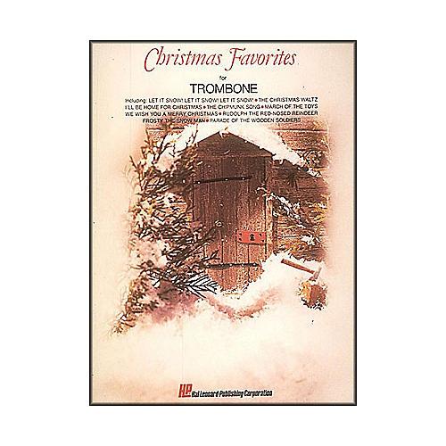 Hal Leonard Christmas Favorites for Trombone