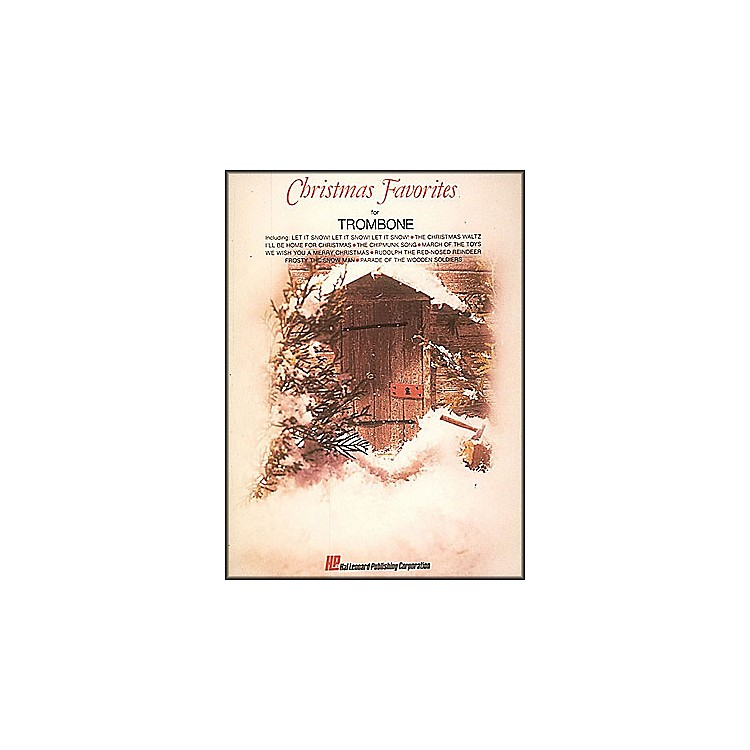 Hal Leonard Christmas Favorites for Trombone