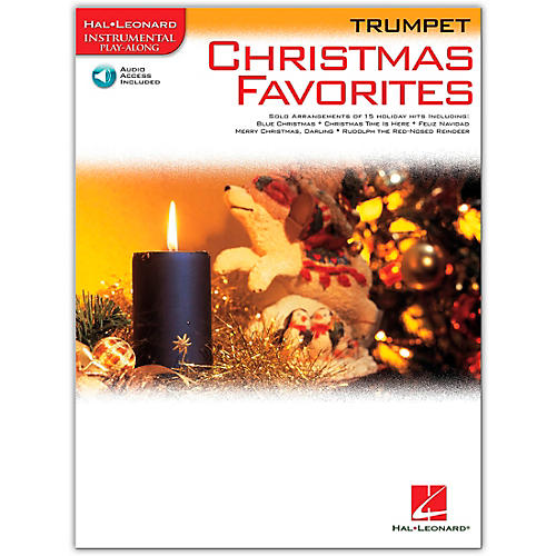 Hal Leonard Christmas Favorites for Trumpet Book/CD Instrumental Play-Along