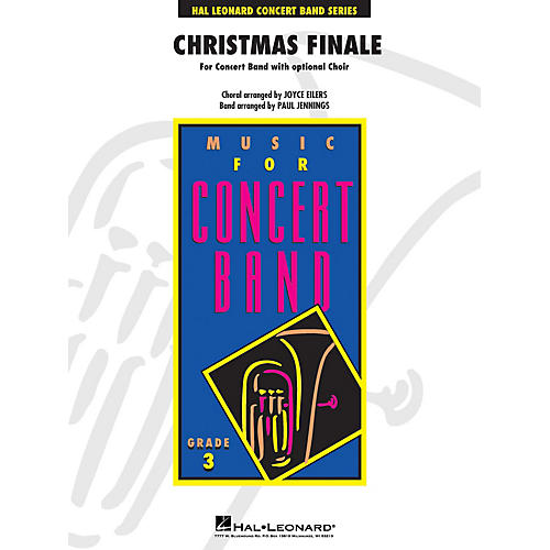 Hal Leonard Christmas Finale - Young Concert Band Series Level 3 with Choir arranged by Paul Jennings