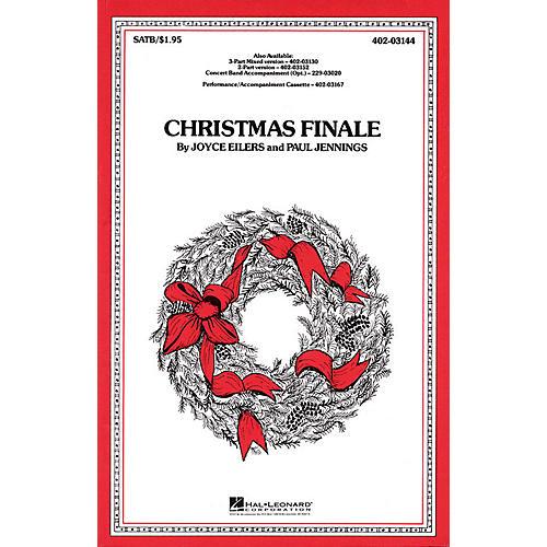 Hal Leonard Christmas Finale 2-Part Arranged by Paul Jennings-thumbnail