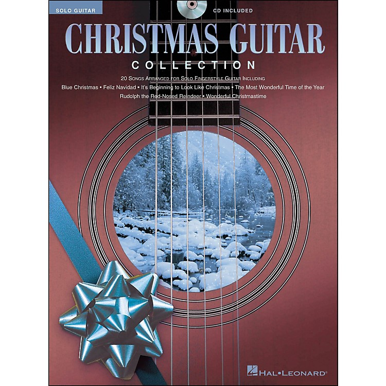 Hal Leonard Christmas Guitar Collection Book/CD Solo Guitar