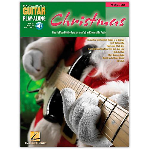 Hal Leonard Christmas Guitar Play-Along Series Book with CD