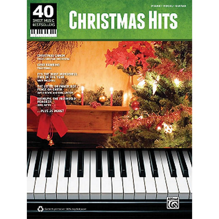 Hal LeonardChristmas Hits 40 Sheet Music Bestsellers Series for Piano/Vocal/Piano