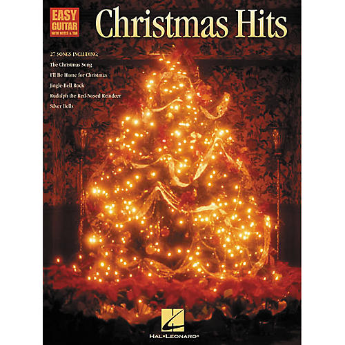 Hal Leonard Christmas Hits Easy Guitar Tab Songbook
