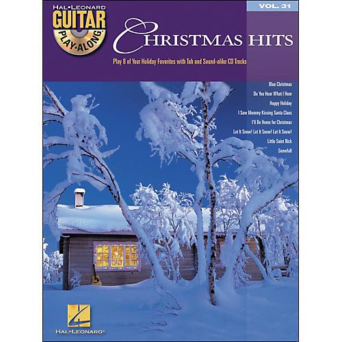 Hal Leonard Christmas Hits Guitar Play-Along Vol. 31 Book/CD-thumbnail
