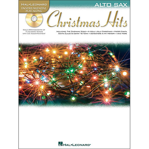 Hal Leonard Christmas Hits for Alto Sax - Instrumental Play-Along CD/Pkg-thumbnail