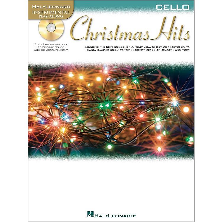 Hal LeonardChristmas Hits for Cello - Instrumental Play-Along Book/CD Pkg