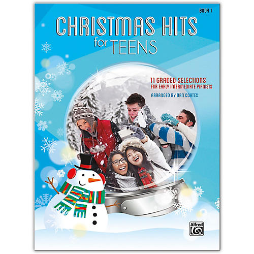 Alfred Christmas Hits for Teens, Book 1 Early Intermediate-thumbnail