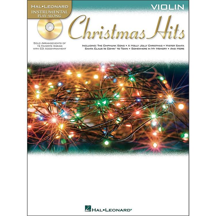 Hal LeonardChristmas Hits for Violin - Instrumental Play-Along CD/Pkg