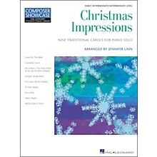 Hal Leonard Christmas Impressions Early Intermediate Level Hal Leonard Student Piano Library by Jennifer Linn
