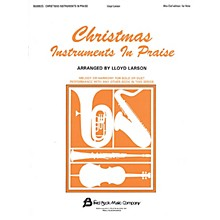 Fred Bock Music Christmas Instruments in Praise (Alto Clef Edition) Instructional Series