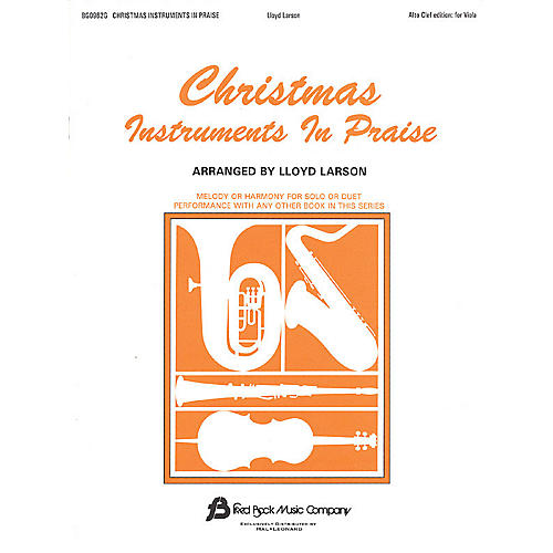 Fred Bock Music Christmas Instruments in Praise (Alto Clef Edition) Instructional Series-thumbnail