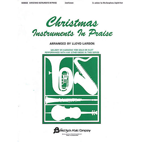 Fred Bock Music Christmas Instruments in Praise Instructional Series-thumbnail