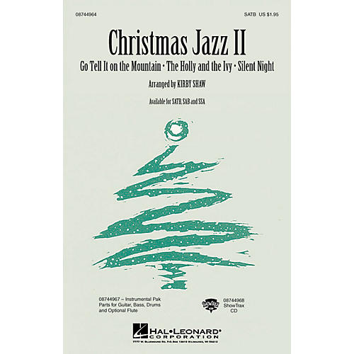 Hal Leonard Christmas Jazz II (Collection) SATB arranged by Kirby Shaw-thumbnail