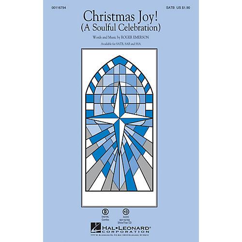 Hal Leonard Christmas Joy! (A Soulful Celebration) SAB Composed by Roger Emerson-thumbnail