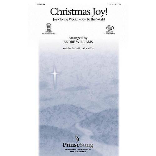 PraiseSong Christmas Joy! SATB arranged by Andre Williams-thumbnail