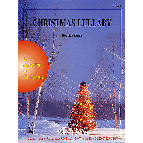 Curnow Music Christmas Lullaby (Grade 1 - Score Only) Concert Band Level 1 Arranged by Douglas Court-thumbnail