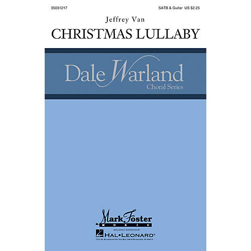 Mark Foster Christmas Lullaby (Mark Foster) CHORAL composed by Jeffrey Van-thumbnail