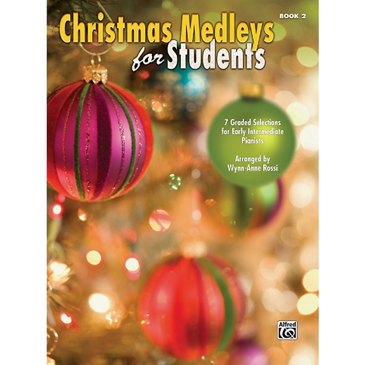 AlfredChristmas Medleys for Students Book 2