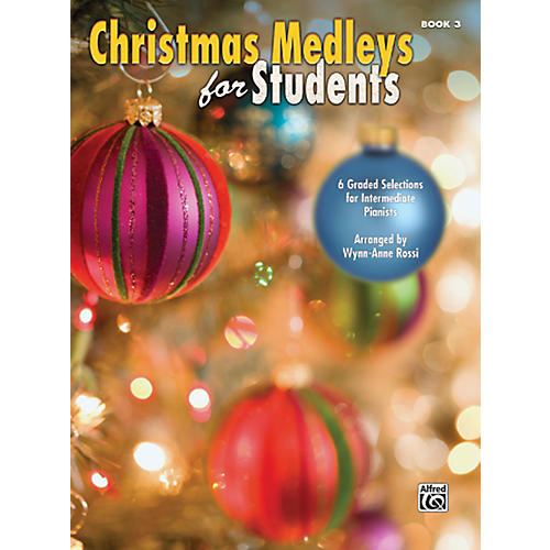 Alfred Christmas Medleys for Students Book 3