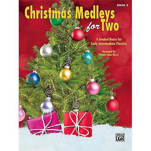 Alfred Christmas Medleys for Two, Book 2 Early Intermediate-thumbnail