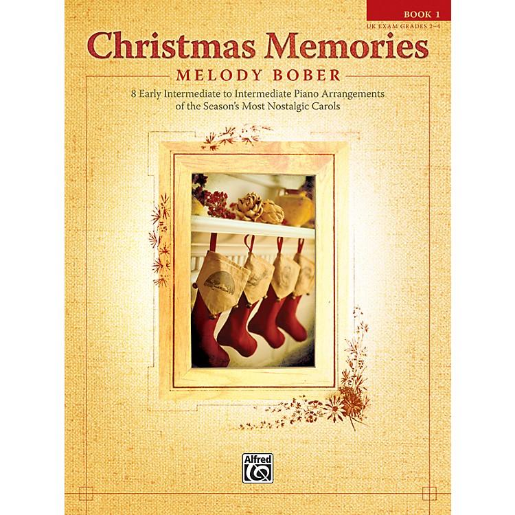 AlfredChristmas Memories Piano Book 1
