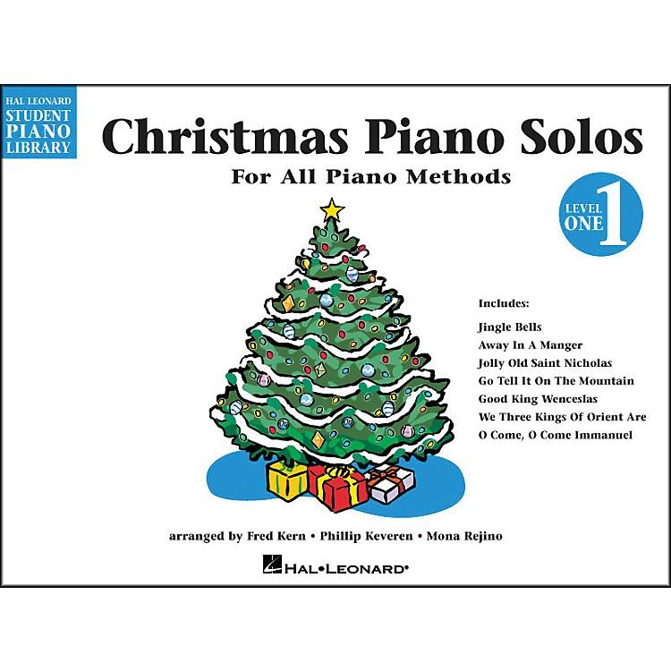 Hal LeonardChristmas Piano Solos Book 1 Hal Leonard Student Piano Library