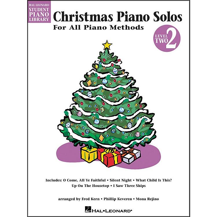 Hal LeonardChristmas Piano Solos Book 2 Hal Leonard Student Piano Library