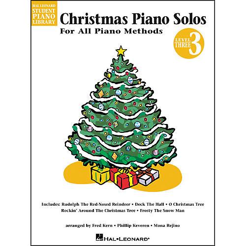 Hal Leonard Christmas Piano Solos Book 3 Hal Leonard Student Piano Library