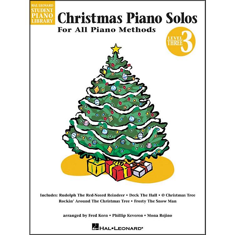 Hal LeonardChristmas Piano Solos Book 3 Hal Leonard Student Piano Library