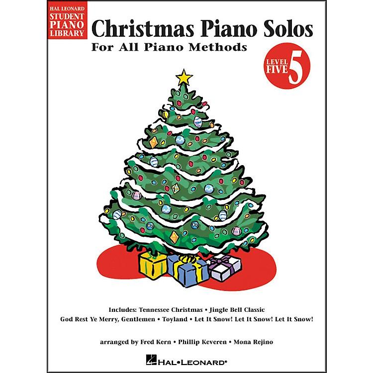 Hal LeonardChristmas Piano Solos Book 5 Hal Leonard Student Piano Library