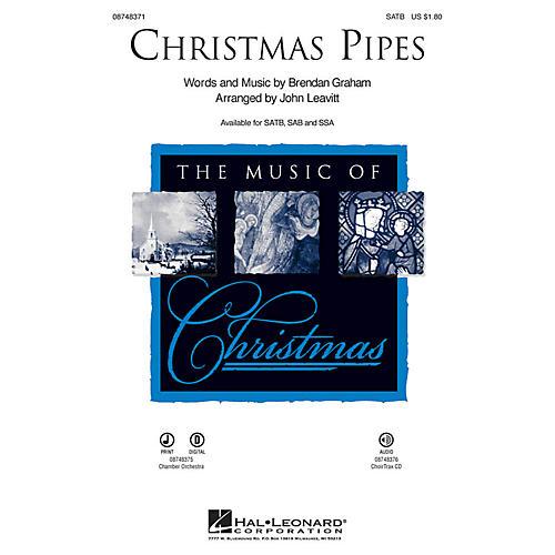 Hal Leonard Christmas Pipes IPAKO Arranged by John Leavitt
