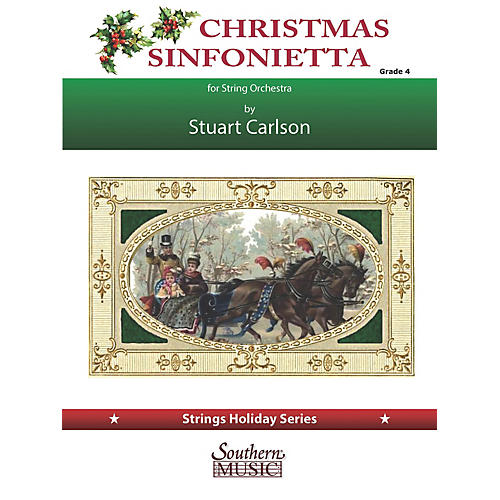 Southern Christmas Sinfonietta (for String Orchestra) Southern Music Series Softcover by Stuart Ross Carlson-thumbnail