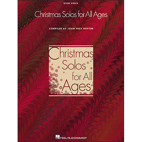 Hal Leonard Christmas Solos for All Ages for High Voice