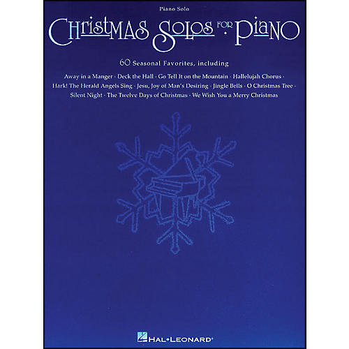 Hal Leonard Christmas Solos for Piano arranged for piano solo-thumbnail