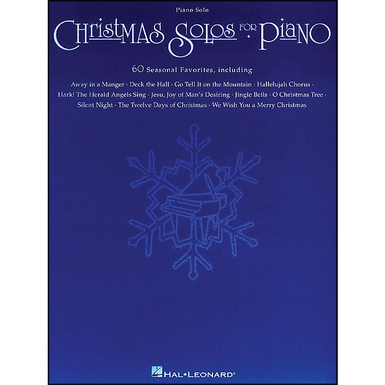 Hal Leonard Christmas Solos for Piano arranged for piano solo