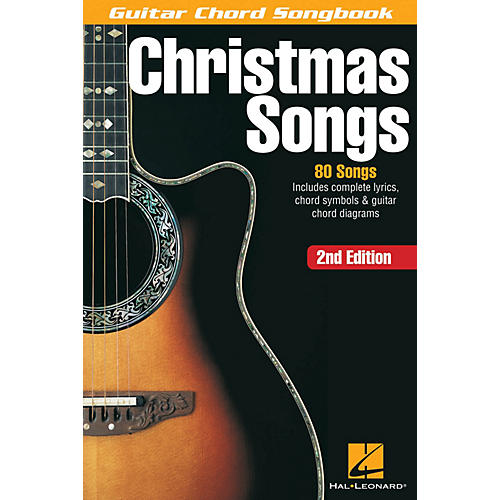 Hal Leonard Christmas Songs - 2nd Edition Guitar Chord Songbook Series Softcover-thumbnail