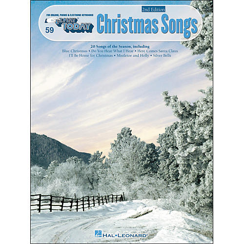 Hal Leonard Christmas Songs 2nd Edition E-Z Play 59