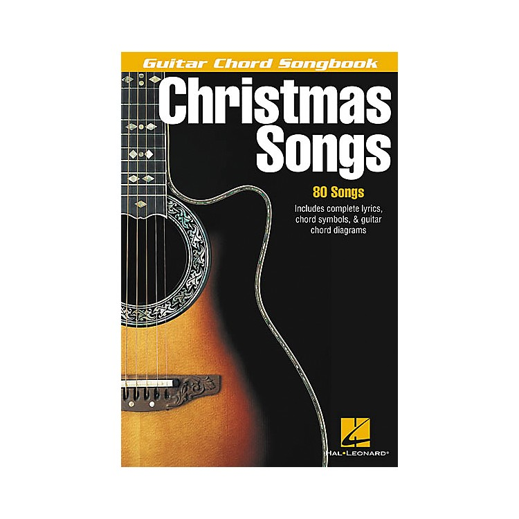 Hal Leonard Christmas Songs Guitar Chord Songbook