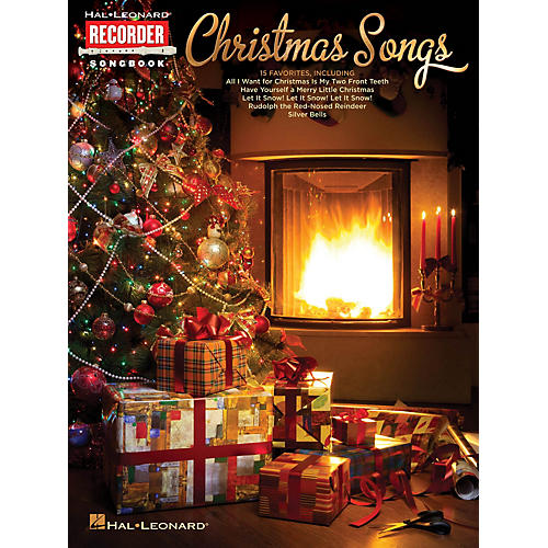Hal Leonard Christmas Songs (Hal Leonard Recorder Songbook) Recorder Series Softcover-thumbnail