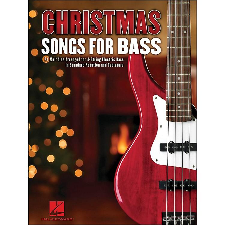 Hal LeonardChristmas Songs for Bass