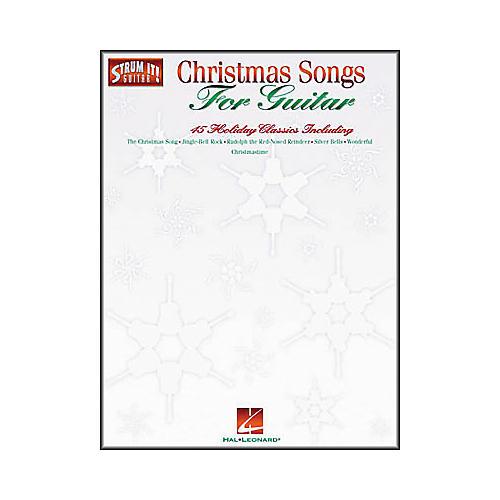 Hal Leonard Christmas Songs for Guitar Strum It Guitar Book